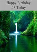 Happy Birthday - 93 Today - Option 1